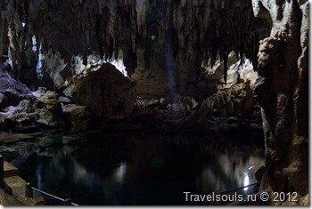Пещера Hinangdanan Cave, Филиппины