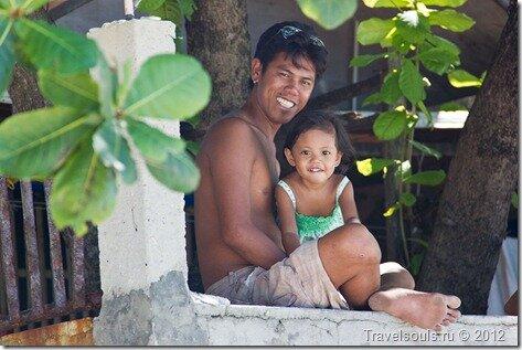Филиппинцы, дети