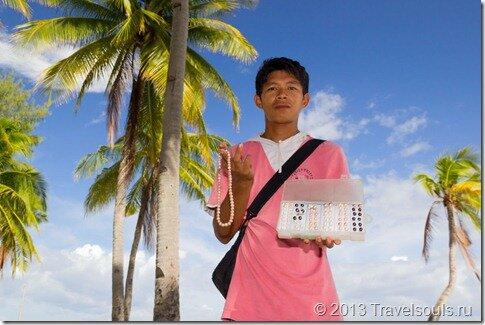 торговец, черный, жемчуг, Филиппины, Малапаскуа