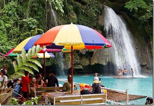 Водопад Кавасан, Филиппины