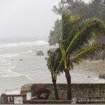 Очередная глава–тайфун, фридайвинг и прочее.