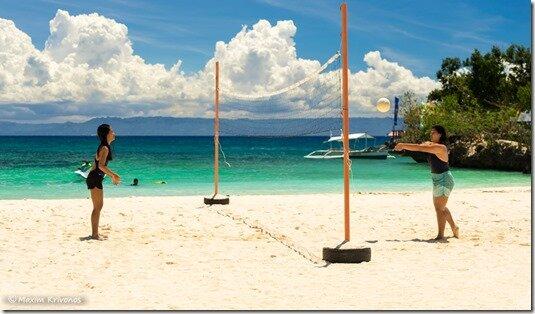 Mangodlong, Филиппины, пляж, красивое море, Камотес, путешествие, лодки, волейбол, филиппинки