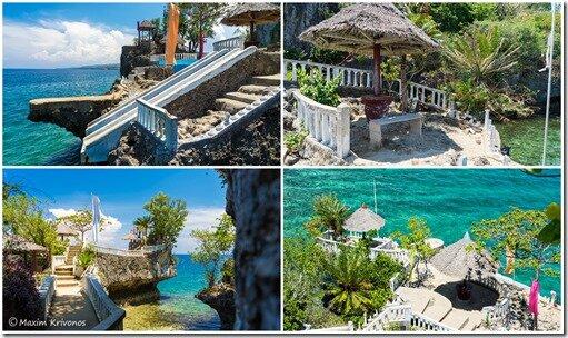 Boho Rock, Филиппины, пляж, красивое море, Камотес, путешествие,