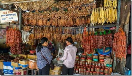 Камбоджа, СиемРеап, Сиемрип, улица, рынок, рыба, old market