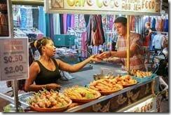 Камбоджа, Сием-реап, маркет, ночь, Pab Street